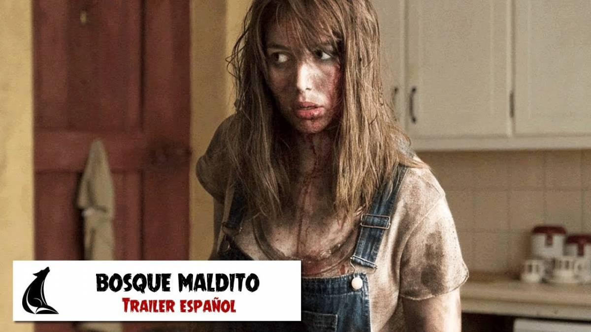 trailer bosque maldito